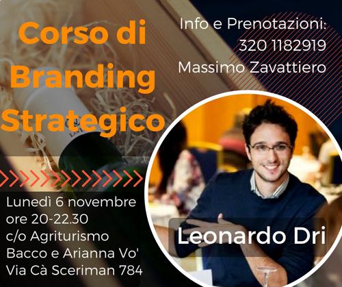 Corso Branding Strategico – Leonardo Dri