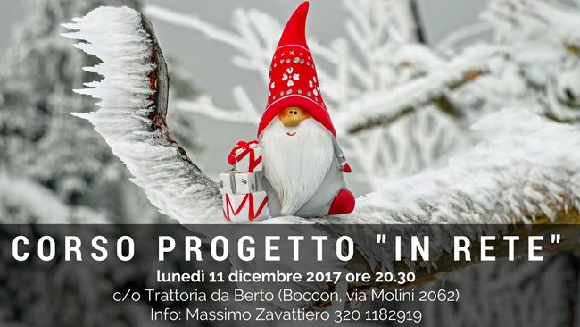 """Corso Progetto """"In Rete"""" 11 dicembre"""